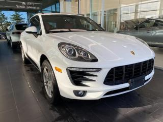 Used 2015 Porsche Macan S AWD, SCCIDENT FREE, ONE OWNER, POWER HEATED/VENTED LEATHER SEATS, NAVI, SKYROOF for sale in Edmonton, AB