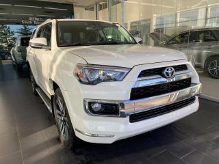 Used 2018 Toyota 4Runner LIMITED 4WD, ACCIDENT FREE, ONE OWNER, POWER HEATED/VENTED LEATHER SEATS, SUNROOF for sale in Edmonton, AB
