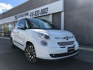 Used 2014 Fiat 500L Beats by dre-Leather-sunroof-auto for sale in Toronto, ON