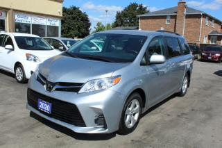 Used 2020 Toyota Sienna LE Power Doors 8 Passengers for sale in Brampton, ON