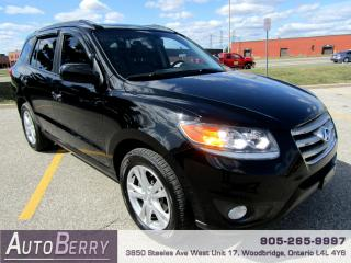 Used 2012 Hyundai Santa Fe Limited - AWD - 3.5L for sale in Woodbridge, ON