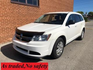 Used 2016 Dodge Journey Canada Value Pkg for sale in Oakville, ON