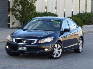 Used 2008 Honda Accord LEATHER,EX-L,FULLY LOADED,ONE-OWNER,CERTIFIED for sale in Mississauga, ON