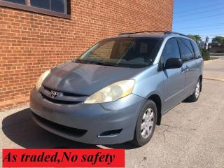 Used 2006 Toyota Sienna CE/NO ACCIDENTS for sale in Oakville, ON