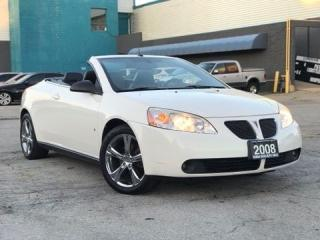 Used 2008 Pontiac G6 GT Convertible|Leather|Accident free|Low Mileage for sale in Burlington, ON
