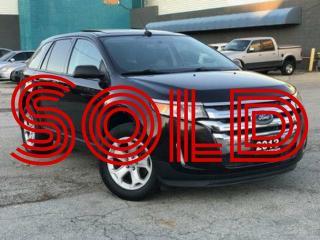 Used 2013 Ford Edge SEL|Navi|Leather|Sunroof|Rear Camera|Bluetooth for sale in Burlington, ON