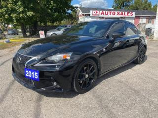 Used 2015 Lexus IS 250 F Sport/AWD/Automatic/Bluetooth/Sunroof/Certified for sale in Scarborough, ON