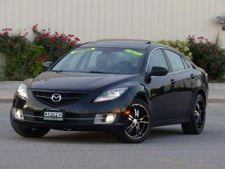 Used 2010 Mazda MAZDA6 LEATHER,GT,SPORT RIMS,FULLY LOADED,NO-ACCIDENT,CER for sale in Mississauga, ON