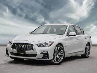 New 2020 Infiniti Q50 Signature Edition Sunroof, Navigation, Factory Remote Start! for sale in Winnipeg, MB