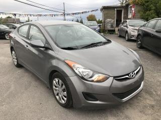 Used 2013 Hyundai Elantra GL for sale in Gloucester, ON