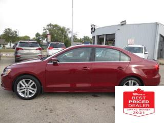 Used 2015 Volkswagen Jetta Sedan 4dr 1.8 TSI Auto Highline - Sunroof/Leather/Camera for sale in Winnipeg, MB