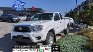 Used 2012 Toyota Tacoma 4WD Access I4 AUTO Local Wpg, Clean!  1owner! for sale in Winnipeg, MB