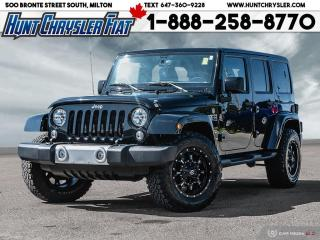 Used 2015 Jeep Wrangler Unlimited SAHARA | UNLIM | NAV | HTD STS & MORE! for sale in Milton, ON