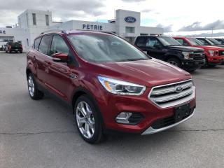 Used 2019 Ford Escape Titanium - AWD, REMOTE START, PANORAMIC ROOF, NAV for sale in Kingston, ON