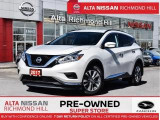 Used 2017 Nissan Murano S   18 Alloy   Push Start   Heated Seats   Navi for sale in Richmond Hill, ON