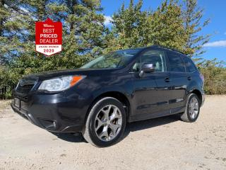 Used 2016 Subaru Forester LIMITED TECH PKG *NAV - SUNROOF - ADAPTIVE CRUISE* for sale in Winnipeg, MB