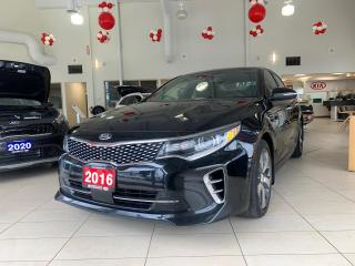 Used 2016 Kia Optima SXL Turbo for sale in Waterloo, ON
