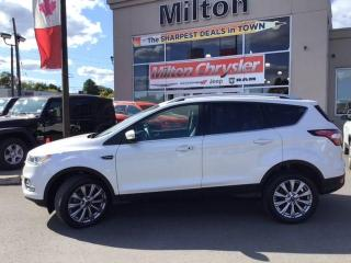 Used 2017 Ford Escape TITANIUM 4X4|LEATHER|SUNROOF|NAVIGATION for sale in Milton, ON