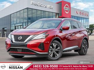 New 2020 Nissan Murano SV for sale in Medicine Hat, AB