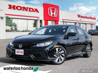 Used 2018 Honda Civic Hatchback LX for sale in Waterloo, ON