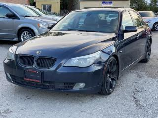 Used 2008 BMW 5 Series 4dr Sdn 535i for sale in Scarborough, ON