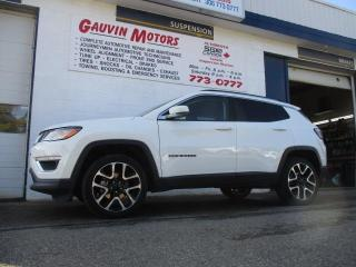 Used 2019 Jeep Compass Limited 4X4 for sale in Swift Current, SK