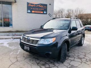 Used 2010 Subaru Forester 5dr Wgn Auto 2.5X Sport for sale in Barrie, ON