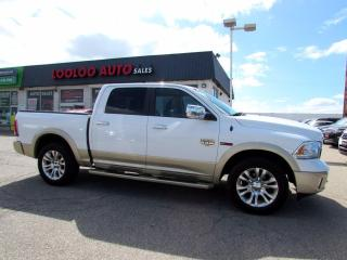 Used 2016 RAM 1500 Laramie Longhorn Crew Cab 4WD Diesel Navi Camera Certified for sale in Milton, ON
