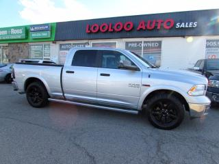 Used 2016 RAM 1500 OUTDOORSMAN CREW CAB AWD BLUETOOTH CERTIFID for sale in Milton, ON