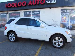 Used 2009 Mercedes-Benz ML-Class ML320 BlueTEC AWD Diesel NAVIGATION CAMERA CERTIFIED for sale in Milton, ON