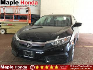 Used 2016 Honda Civic LX| Backup Cam| Bluetooth| for sale in Vaughan, ON