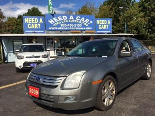 Used 2009 Ford Fusion SEL 3.0L V6 for sale in Oshwa, ON