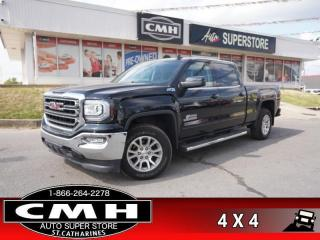 Used 2017 GMC Sierra 1500 SLE  4X4 CAM PWR-SEATS/PEDALS PARK-SENS for sale in St. Catharines, ON