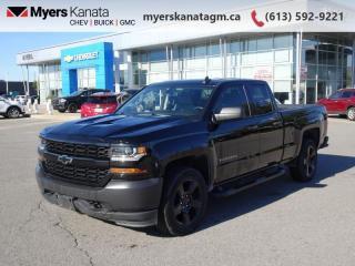 Used 2017 Chevrolet Silverado 1500 WT  - Cruise Control for sale in Kanata, ON