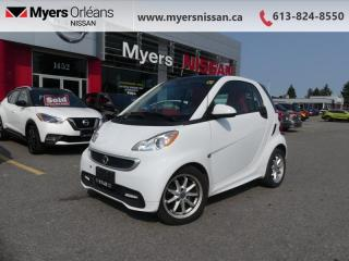 Used 2015 Smart fortwo PASSION  - Heated Seats - $73 B/W for sale in Orleans, ON