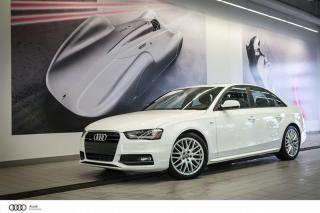 Used 2015 Audi A4 KOMFORT PLUS - 2.0 TFSI - QUATTRO AWD for sale in Sherbrooke, QC