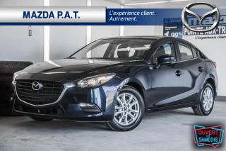 Used 2018 Mazda MAZDA3 AUTOMATIQUE,CAMÉRA DE RECUL,BLUETOOTH,A/C for sale in Montréal, QC