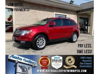 Used 2010 Ford Edge SEL* Awd/Htd seats/B.tooth for sale in Winnipeg, MB