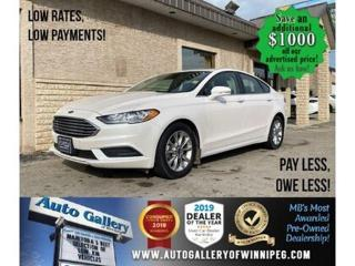 Used 2017 Ford Fusion SE* B. cam/B. tooth/Htd seats for sale in Winnipeg, MB