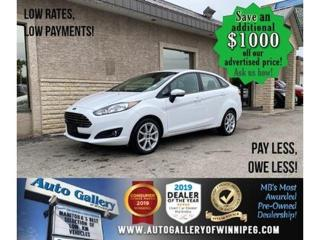 Used 2015 Ford Fiesta SE* AC/B.tooth/AT for sale in Winnipeg, MB