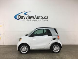 Used 2018 Smart fortwo electric drive Passion - NAV! REVERSE CAM! HTD LEATHER! ONLY 16,000KMS! for sale in Belleville, ON