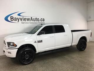 Used 2018 RAM 2500 Laramie - HTD/COOLED LEATHER! SUNROOF! NAV! CUMMINS! for sale in Belleville, ON