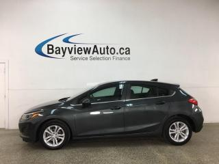 Used 2019 Chevrolet Cruze LT - AUTO! ALLOYS! HATCHBACK! PWR GROUP! for sale in Belleville, ON