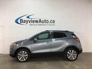 Used 2019 Buick Encore Preferred - AWD! 1/2 LEATHER! REVERSE CAM! ONLY 1200KMS! for sale in Belleville, ON