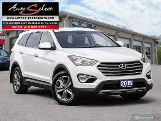 Used 2015 Hyundai Santa Fe XL 7 Passenger AWD ONLY 70K! **CLEAN CARPROOF** PREMIUM PKG for sale in Scarborough, ON