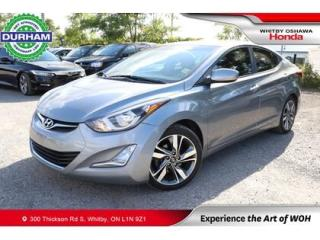 Used 2015 Hyundai Elantra 4dr Sdn Auto GLS for sale in Whitby, ON