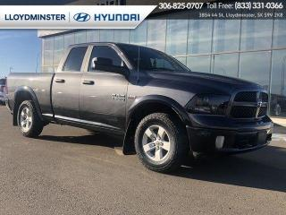 Used 2017 RAM 1500 OUTDOORSMAN for sale in Lloydminster, SK