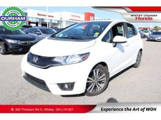 Used 2016 Honda Fit 5dr HB Man EX for sale in Whitby, ON