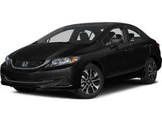 Used 2015 Honda Civic EX BLUETOOTH | REARVIEW CAMERA WITH GUIDELINES | POWER SUNROOF for sale in Cambridge, ON
