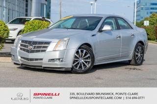 Used 2011 Cadillac CTS **PERFORMANCE AWD** *AWD*CUIR*CAMERA DE RECUL*SIEGES MEMOIRE**SIEGES CHAUFFANT**2 SET DE PNEU SUR MAGS** for sale in Montréal, QC